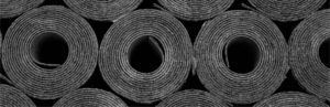 Commercial roofing rolls