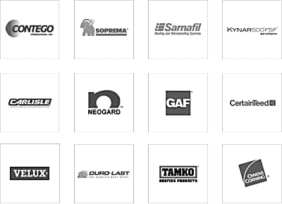 commercial roofing material brands